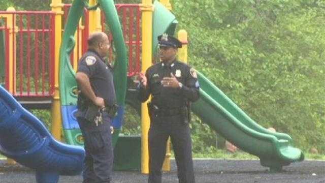 body found at Baltimore school