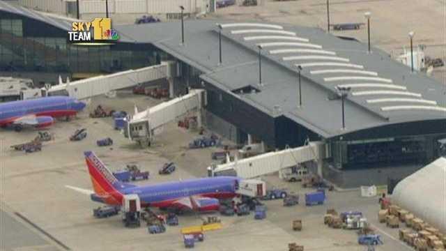 Southwest Airlines terminal at Baltimore-Washington International Thurgood Marshall Airport