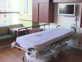 Everything here is state-of-the-art, from the operating rooms to larger patient rooms.