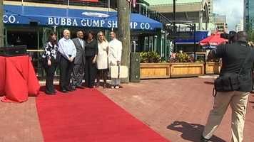 Bubba Gump Shrimp Co. opens its doors to the public Thursday, marking another grand opening at Baltimore's Inner Harbor this year. A Ripleys Believe It or Not museum in the Light Street Pavilion in June.