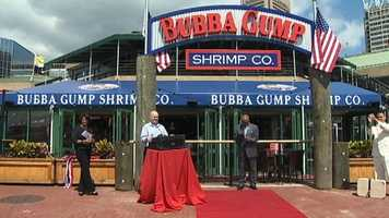 Taking over the spot Phillips Seafood vacated, Bubba Gump is slated to attract not only Inner Harbor tourists, but residents as well.