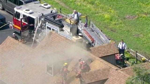 Baltimore County house fire