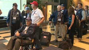 The program that brings veterans to Washington, D.C., to see military war memorials.