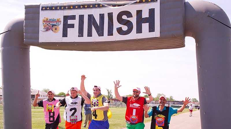 Team O'Neill finishes Preakness 5k