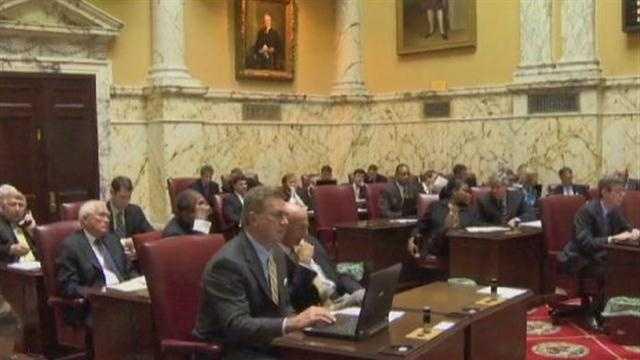 Maryland Senate Floor