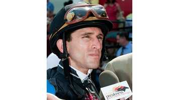 Jockey Ramon Dominguez will ride Sagamore Farm's Tiger Walk after jockey Kent Desormeaux fails a Breathalyzer test. | Jerry Dzierwinski\Maryland Jockey Club
