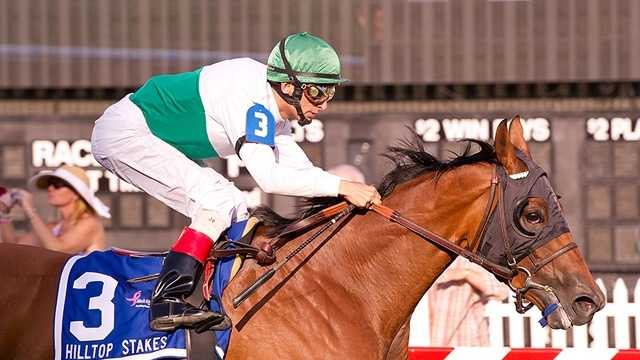 Coup wins Hilltop Stakes