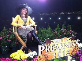 11 Insta-Weather PLUS meteorologist Ava Marie up bright and early for WBAL-TV's Preakness coverage.