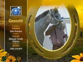 Cozzetti Post 11 (M-L Odds 30)
