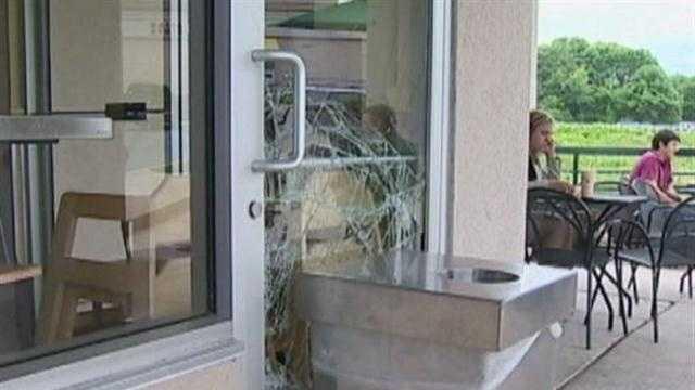 Burglars break through 11 businesses in Columbia, leaving few clues behind.