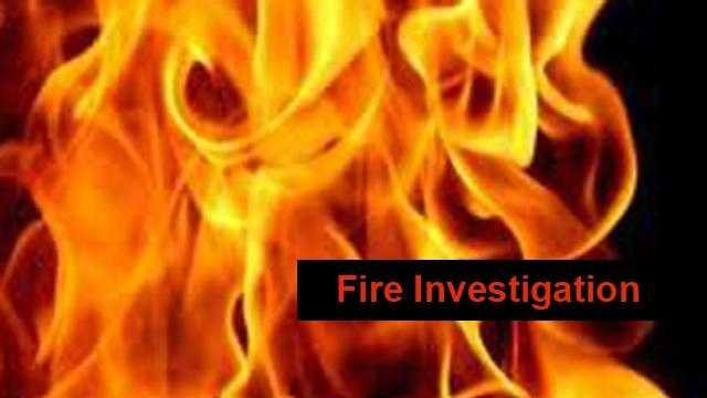 Fire Investigation -- Generic - 31086724
