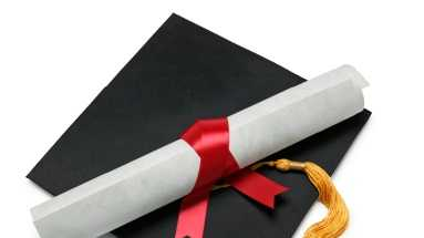 graduation, diploma, hat