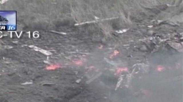 Navy drone crash