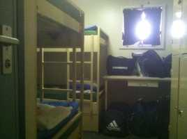 Sheldon takes you for a peek inside his room.