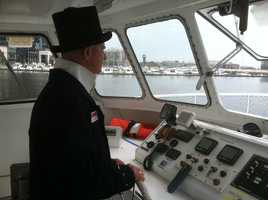 The Annapolitan II offers a 60-minute tour by sea, leaving from the Inner Harbor.