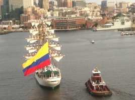 Ecuador's ARC Gloria