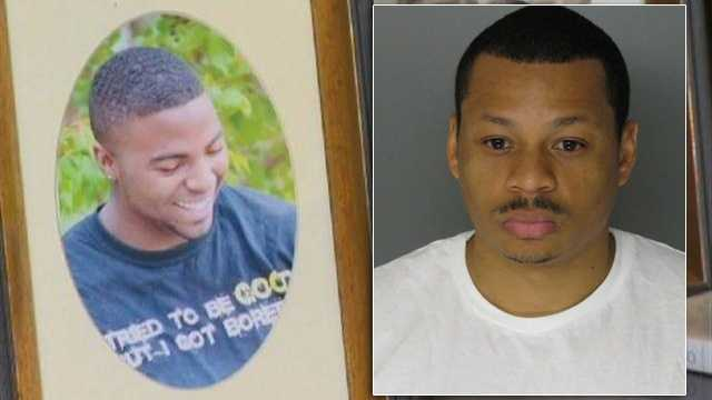 Christopher Brown, Baltimore County police Officer James LaBoard