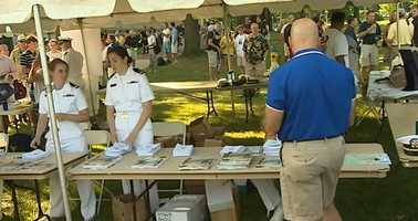 Induction Day is the start of plebe summer when freshman get a crash course in what it means to be in the military.
