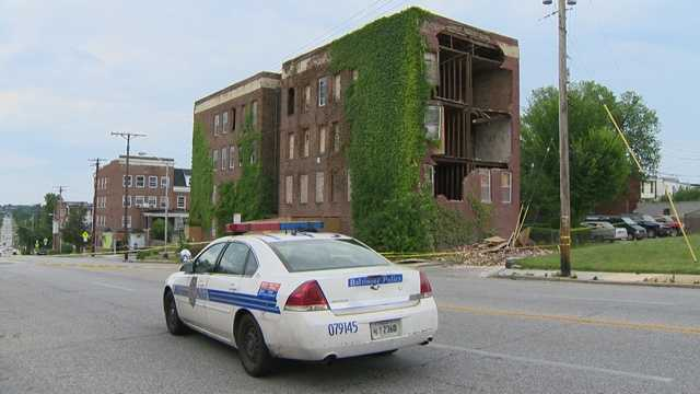 31st Street building collapse