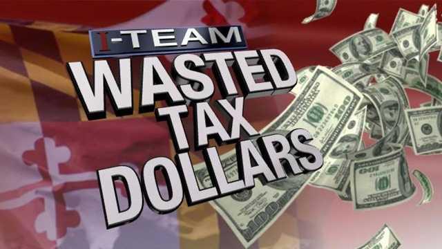 Wasted tax dollars - art photo