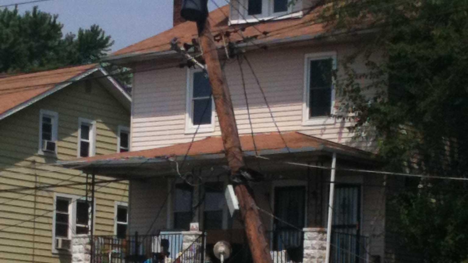 Wilkens Avenue Catonsville crash