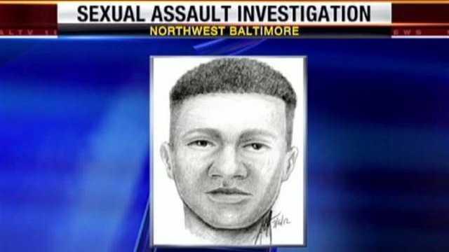 Edgecombe Circle sex assault sketch