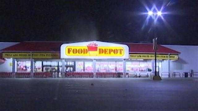 Food Depot sign