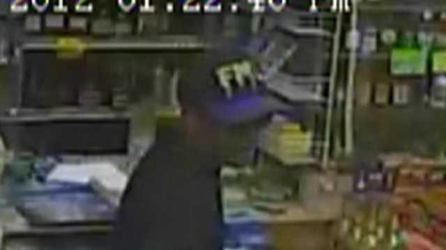 Woody's Liquors robbery