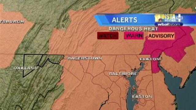 Code Red Heat Alert 7-26