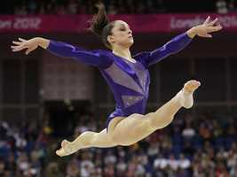 """Gymnastics was the second most-anticipated event/athlete our friends looked forward to watching. And, the newly dubbed """"Fab Five"""" -- Jordyn Wieber, Aly Raisman, Gabby Douglas, Kyla Ross, and McKayla Maroney -- surely didn't disappoint. They won gold and became the second American team to win the Olympic team title."""