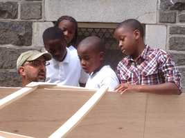 Harris Creek Boatworks is an organization dedicated to teaching youth through the building and use of small boats.