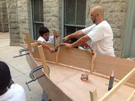 A local summer program is giving some city children a chance to work on their math skills and their building abilities.
