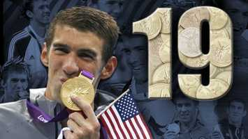 It's widely known that Michael Phelps made history Tuesday by winning his 19th Olympic medal, making him the most-decorated Olympian.