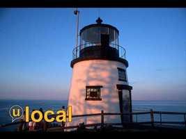 Owls Head Light, Penobscot Bay Rockland Harbor, ME