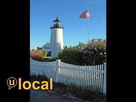 Newburyport Harbor Light, also known as Plum Island Light, Newburyport, MA