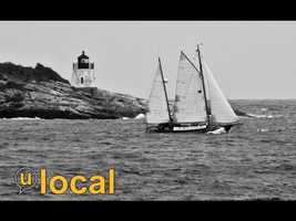 Castle Hill Lighthouse, Narragansett Bay Newport, RI