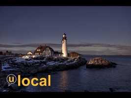 Portland Head Light is a historic lighthouse in Cape Elizabeth, ME