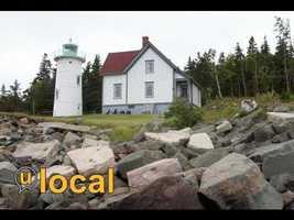 Little River Lighthouse Cutler, Maine