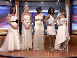 Bridal gowns and other formal clothing, sold or rented