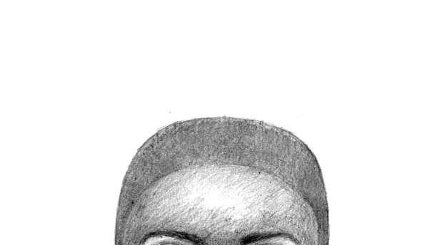 Baltimore City police say they're looking for this man in connection with a tax collection home invasion robbery scam.