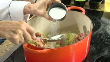 Picadillo Step 4: Add2 tsp kosher salt