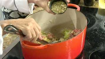 Picadillo Step 5: Add 1 tsp dried oregano