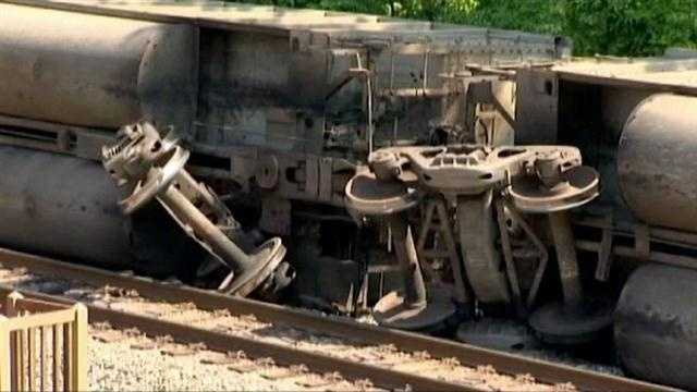 Train Derailment 5 PM
