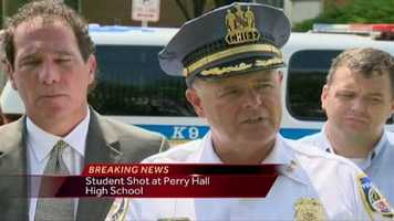 Police and other local officials spoke about the latest developments during a news conference Monday afternoon.