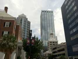 Tampa prepared for the Republicans' party ... and Hurricane Isaac.