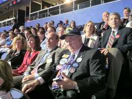 The Maryland delegation at the Republican National Convention.