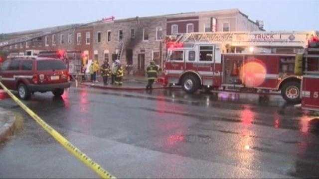 Fatal Fire In Baltimore
