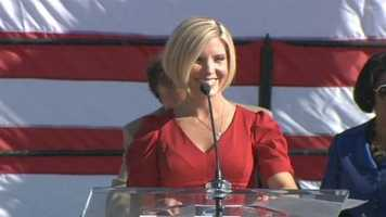 WBAL-TV 11 News Today anchor Mindy Basara proudly serves as emcee of the event.