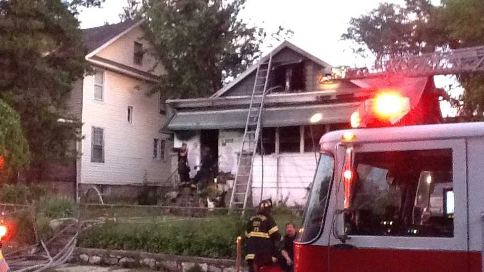 fatal north Baltimore house fire