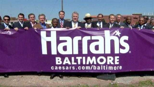 The new general manager named to run Harrah's Baltimore says the facility will bring thousands of jobs to the city.